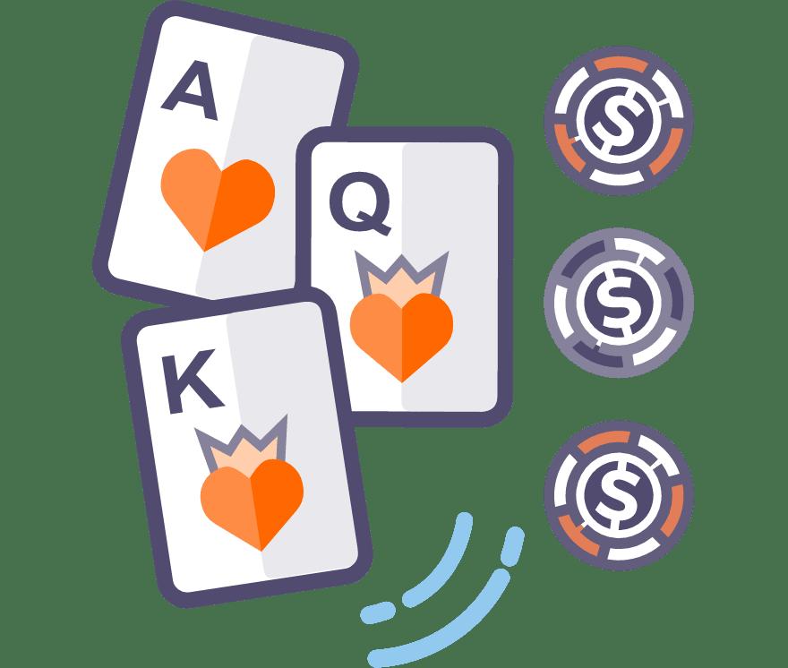 Best 64 Three Card Poker Online Casino in 2021